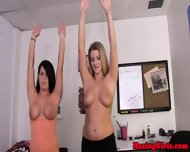 Busty Hazed Coed Jumping Jacks - scene 7