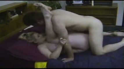 Chubby Mature gets nailed - scene 1