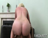 Babe Gives Raucous Cock Riding - scene 11
