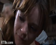 Upside Down Babe Gives Blowjob - scene 1