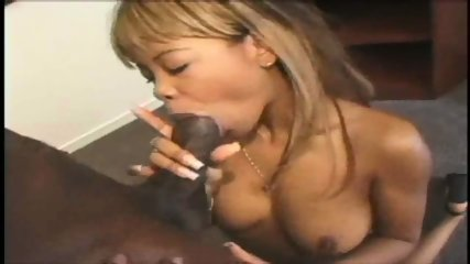 Black Girl loves to lick big Chocolate Sticks - scene 3