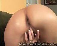 Asian Petite Trains Her Little Pussy With A Huge Dildo - scene 7