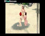 3d Animation Lesbians - scene 10