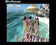 3d Animation Lesbians - scene 7