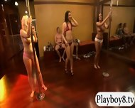 Busty Women Learning Pole Dancing And Fucked With Nasty Men - scene 5
