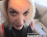 Sperm Swallowing Wife Sucks Hubby Bros - scene 2