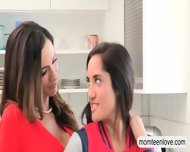 Ariella Ferrera And Chloe Amour Hot 3way With Nasty Bf - scene 1