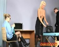 Super Hot Youung Blonde Strip Searched - scene 3