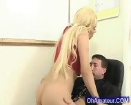 Hot Young Blonde Fucked After School - scene 9