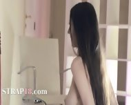 Hot Lezzies Fuck In Front Of Mirror - scene 9