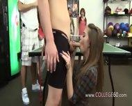 Horny Schoolgirls Fucking Everywhere In Room - scene 2
