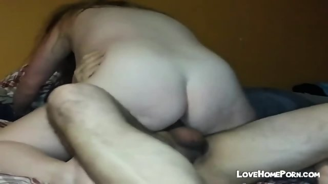 Chubby Wife Blowing And Riding Her Hubbys Dick