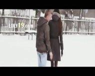 Extremelly Sleek Love Between Us - scene 1