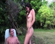 Young Sweet Couple Fucking In Outdoor - scene 8
