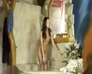 Sweet Brunett With Luxury Body - scene 5