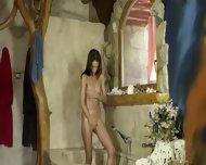Sweet Brunett With Luxury Body - scene 6
