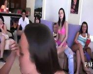 Teen Schoolmates Enjoying Swingers Action - scene 2