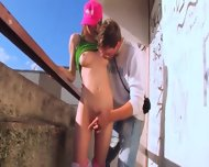 Shocking Teenagers Place To Fuck - scene 5