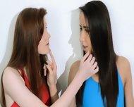 Hairy Lesbians In Nylon Pants Fuck - scene 3