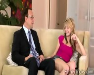 Prev Crosses The Line With His Beautiful Redhead Stepdaughter - scene 5