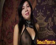 Oriental Tgirl Boner Sucker - scene 1
