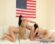 Lesbian Threesome - scene 4
