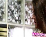 Beautiful And Blonde Abby Cross Relieves Amanda Tates Stress - scene 10