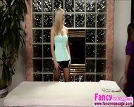 Beautiful And Blonde Abby Cross Relieves Amanda Tates Stress - scene 3
