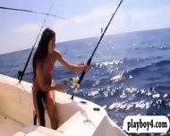 Badass Girls Surfing And Deep Sea Fishing While All Nude - scene 11
