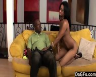 A Big Black Cock For A Excited Ebony - scene 4