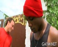 Muscle Black Gay Fucked - scene 5