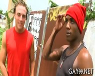 Muscle Black Gay Fucked - scene 6