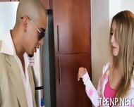 Hot Asian Chick Endures Banging - scene 2