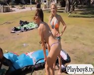 Badass Hot Babes Try Out Kite Boarding And Jiu Jitsu - scene 1