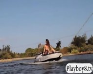 Badass Hot Babes Try Out Kite Boarding And Jiu Jitsu - scene 10