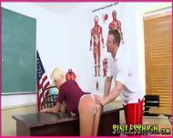 Detention Turns Into A Hard Fuck - scene 10
