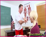 Detention Turns Into A Hard Fuck - scene 4
