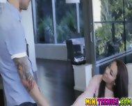 Sophia Torres Rubbing On His Boner Through His Jean - scene 2