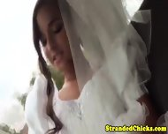 Stranded Newly Wed Picked Up And Sucks - scene 1
