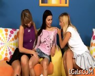 Sexual Lesbo Girls Relax - scene 2
