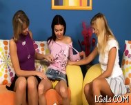 Sexual Lesbo Girls Relax - scene 3