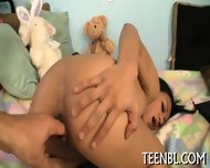 Stroking A Lusty Pecker - scene 12