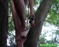 Pulled Euro Party Babe Loves Public Park Sex - scene 5