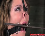 Bdsm Sub Has Mouth And Nose Clamped - scene 11