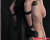 Bdsm Sub Has Mouth And Nose Clamped - scene 7