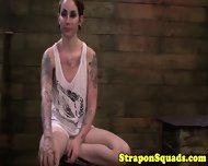Lesbian Sub Tied And Straponfucked - scene 9