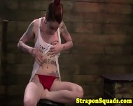 Lesbian Sub Tied And Straponfucked - scene 10
