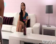 Naughty Fornication With Hot Couple - scene 1
