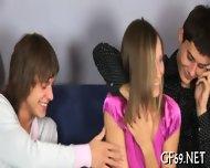 Interracial Threesome With Virgin - scene 9