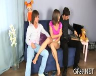 Interracial Threesome With Virgin - scene 11